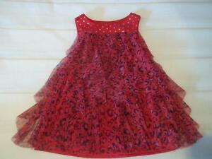 image is loading truly scrumptious heidi klum girl 24m red tulle