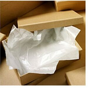 White Luxurious Acid Free Tissue Paper 50cm X 75cm For