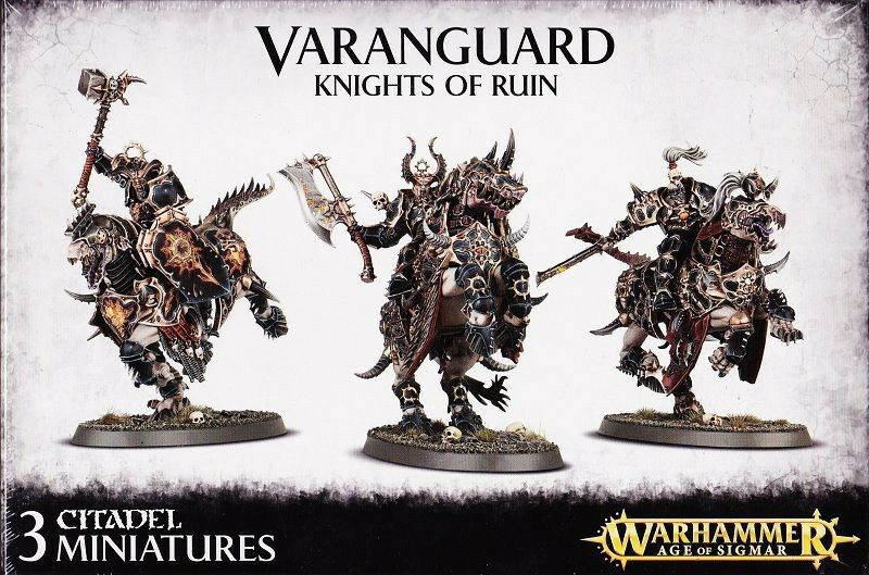 Varanguard  Knights of rovina giocos lavoronegozio Warhammer AGE OF Sigmar  marchi di moda