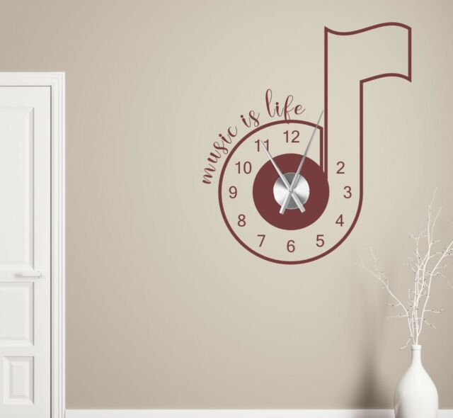Wanduhr Kuchenuhr Wandtattoo Kuche Spruch Wandtattoo Uhr Mit Uhrwerk Pkm284 Children S Bedroom Child Decor Decals Stickers Vinyl Art Home Decor