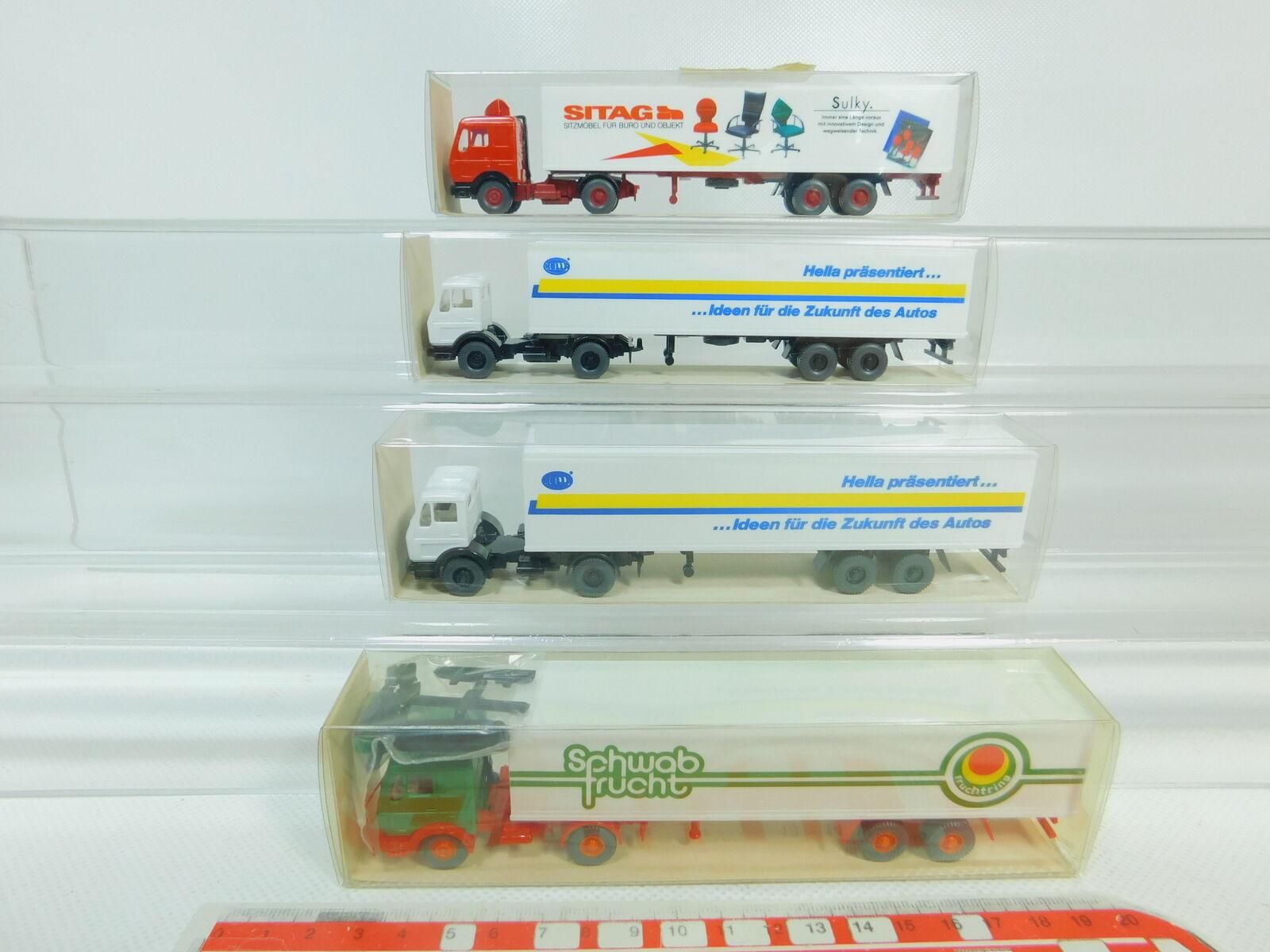 BO651-0,5 x Wiking H0 1 87 87 87 Autocarro MB  540 Hella + 542 Sitag   Schwab fbb2d2
