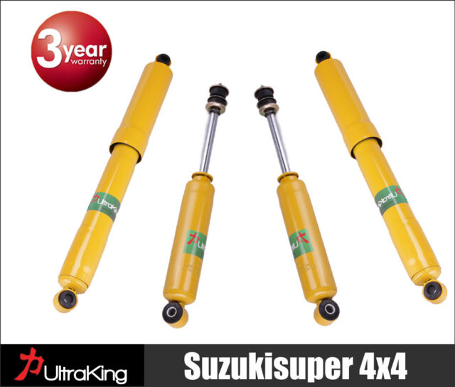 4 Holden R7 R9 RA 4x4 Rodeo Gas Shock Absorbers Kit 4WD Ute 11/1996 to 2008 Set