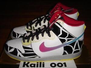 46516094cafa Nike Dunk High Premium SB Size 12 Thrashin 313171-141 Skunk Unkle ...