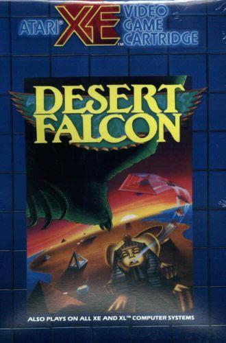 Desert Falcon Cartridge Atari  XE Blue New 800//XL//XE
