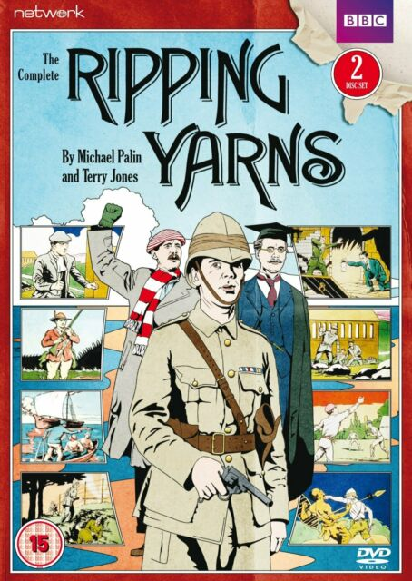 RIPPING YARNS THE COMPLETE SERIES DVD BRAND NEW REGION 2