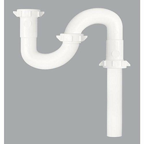"""Do it  Plastic P-Trap with Reducer Washer 410852 1 1//2/"""" or 1 1//4/"""" x 1-1//2/"""""""