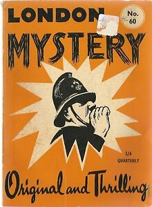 London-Mystery-Selection-Number-Sixty-039-Original-and-Thrilling-039-Vintage