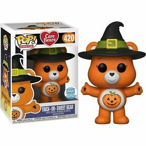Funko-TRICK-OR-SWEET-BEAR-420-Care-Bears-Exclusive-Funko-POP-Vinyl