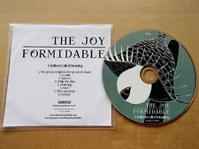 THE JOY FORMIDABLE - A BALLOON CALLED MOANING - VERY RARE PROMO CD TJF08