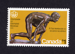 Canada #656 1.00 The Sprinter Montreal Olympics Issue MNH