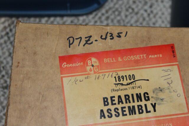 Bell /& Gossett 189100 Bearing Assembly for Pump Motors for sale online