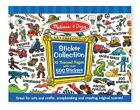 Melissa & Doug Boys Blue 500 Sticker Collection Mnd4246