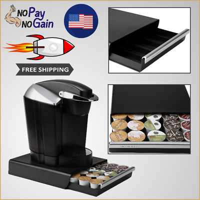 NEW Coffee Pod Storage Organizer Drawer Stand For 30 K-Cups Holder FREE SHIPPING