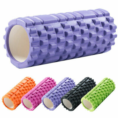 Massagerolle Faszienrolle Gymnastikrolle Foamroller Fitnessrolle Pilates Yoga