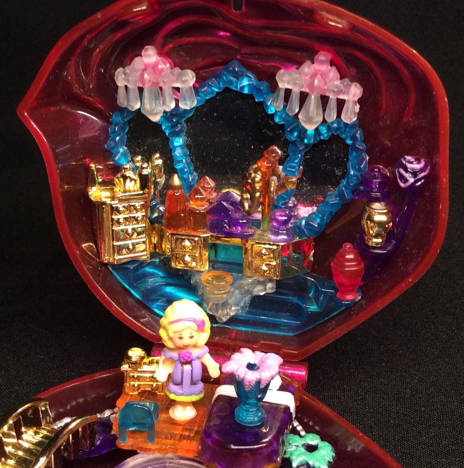 Polly Polly Polly Pocket Mini   1996 - Sweet Rosas - Sparkle Surprise - Rosa Flacon 1.1 206742