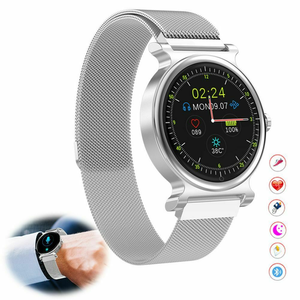 Smart Watch Fitness Tracker Heart Rate Sleep Monitor for Samsung iPhone Huawei Featured fitness for heart monitor rate samsung sleep smart tracker watch