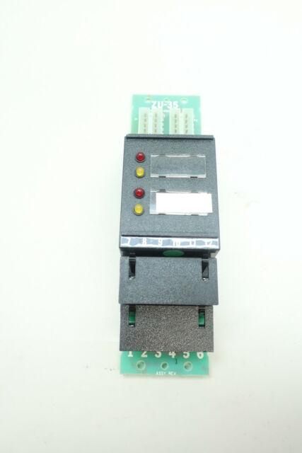 Black//Green for sale online Siemens ZU-35 Cerberus Pyrotronics Dual Zone Module