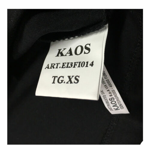 Manches Noir Kaos Par Made shirt Italy In Easy T Twenty Courtes qB0wXxcT