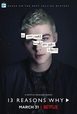 13 REASONS WHY TREDICI TH1RTEEN R3ASONS WHY MANIFESTO POSTER HANNAH BAKER JENSEN
