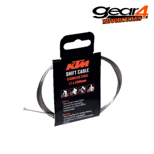 KTM BIKES CYCLE SHIFT CABLE INNER WIRE 1.1MM X 2000MM 25/% OFF 45847