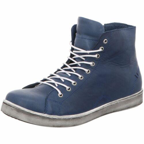 Andrea Conti Damen Stiefeletten 0341500-274 Jeans blau 334329