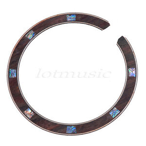 1Pcs Acoustic Guitar Rosette  Abalone Inlay 634458224017
