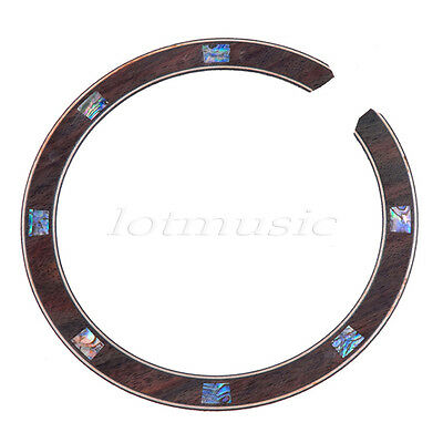 1pcs Acoustic Guitar Rosette  Abalone Inlay Soundhole Rosette