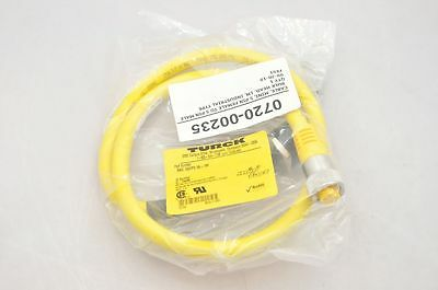 Electrical Equipment & Supplies Persevering Turck Rkv Rsfpv 56-1m Mini Fast 5 Pin Cable Male/femal New