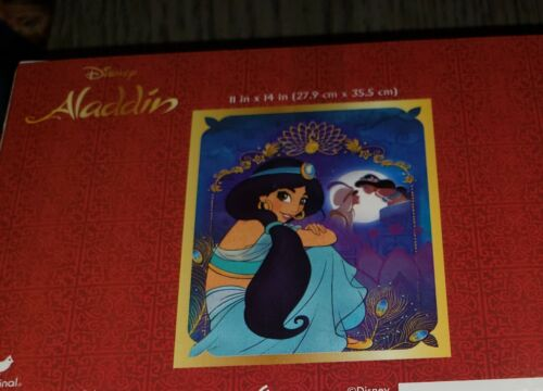 Disney Mickey Mouse Donald Duck Lion King Dumbo Aladdin Puzzle Lot X5 SEE PHOTOS