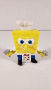 Burger King Spongebob Squarepants Cook Flipster Krabby Toy Viacom 2008 4203