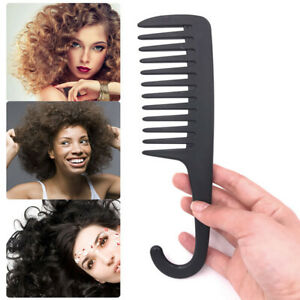 Wet-Detangling-Wide-Tooth-Hair-Comb-Hanging-Anti-static-Shower-Salon-Brush-Comb