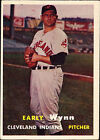 1957 Topps Early Wynn Cleveland Indians #40 Baseball Card