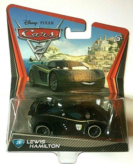Disney Pixar Cars 2 Movie Lewis Hamilton - Die Cast Toy Car #24 New In Package