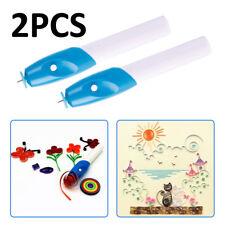 2pcs Winder Steel Curling Pen Electric Paper Quilling Tools DIY Paper Uswarehous