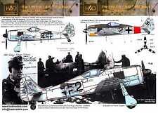 Hungarian Aero Decals 1/48 FOCKE WULF Fw-190F-8 Fw-190A-8 Black 2
