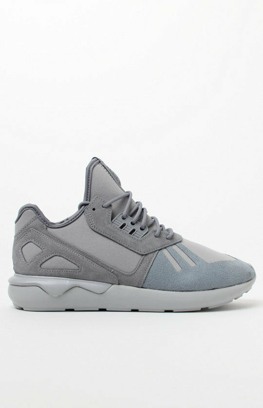 MENS GUYS adidas  Tubular Runner Grey  adidas SHOES SB SNEAKERS NEW 120 366a59