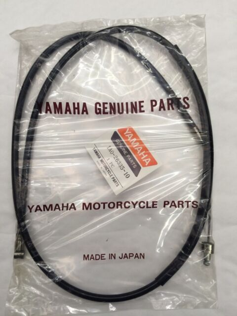 YAMAHA RD250 DX CLUTCH CABLE GENUINE PART 1A02633510