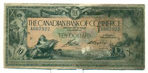 The-Canadian-Bank-of-Commerce-1917-10-Good-No-A667922-Logan