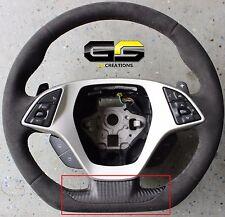 C7 Stingray Z06 Grand Sport Corvette Carbon Fiber Steering Wheel Bottom Cover
