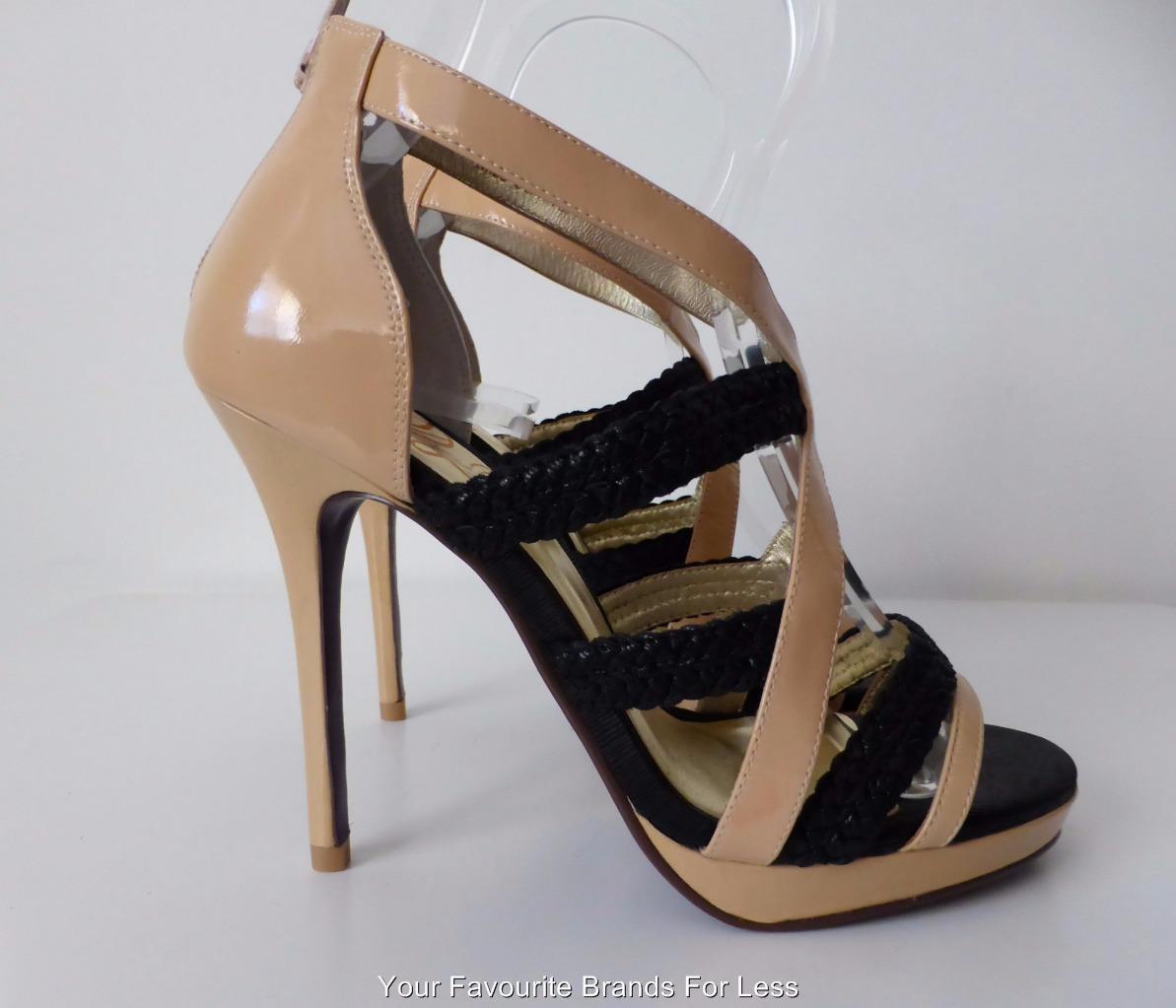 PEEP TOE  rrp $279.00 High Heel Open Toe Leather Shoes Size 40