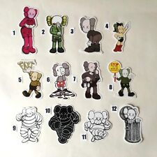 KAWS - ORIGINAL FAKE  Skateboard Stickers Wow  PRICE FOR ONE STICKERS TO CHOOSE