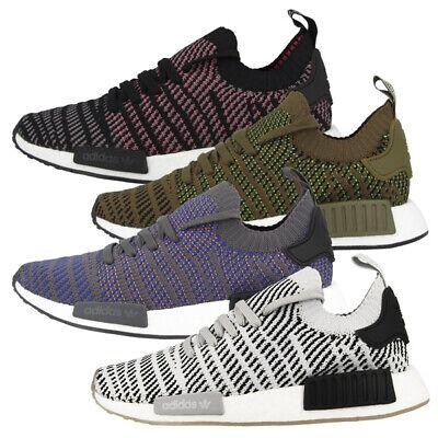 adidas Herren NMD r1 Stlt Primeknit Sneaker Grün Trace