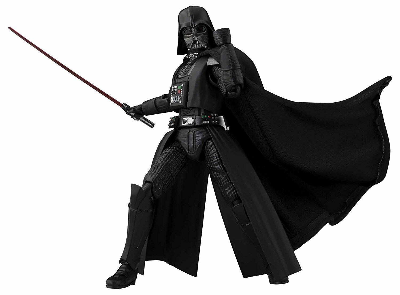 BANDAI S.H.Figuarts Star Wars Darth Vader  A NEW HOPE  OFFICIAL IMPORT JAPAN