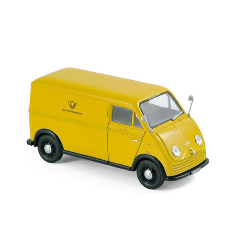 Norev 820302 DKW F89L Deutsche Bundespost Yellow 1952 Scale 1 43 NEW  °
