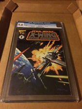 STAR WARS X-WING ROGUE SQUADRON #1/2 SILVER EDITION CGC9.8 HIGHEST GRADED COPY