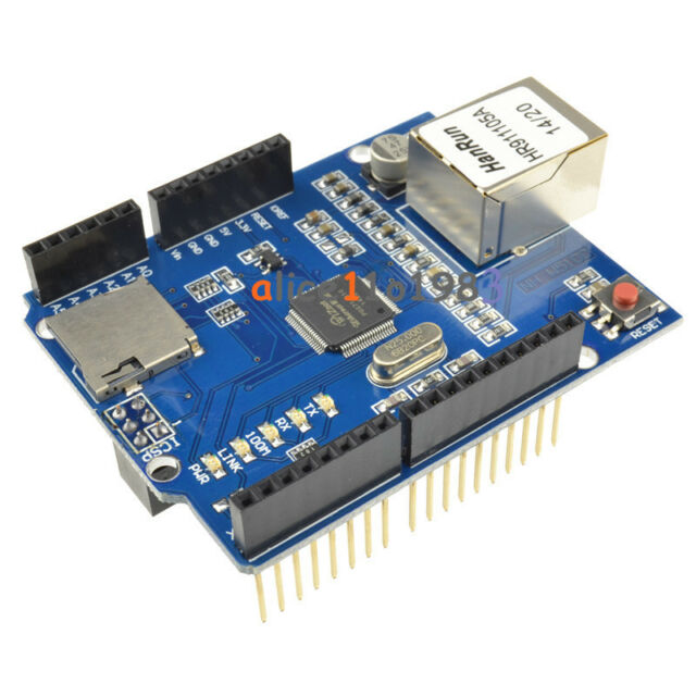 Ethernet Shield W5100 R3 Network Expansion Board For Arduino UNO Mega2560 NEW