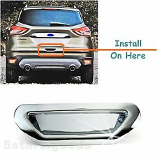 Accessory Chrome Rear Trunk Door Handle Bowl Cover For 2013-2017 Ford Escape