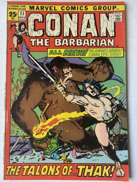 CONAN THE BARBARIAN #11 November 1971 Vintage Marvel Comics