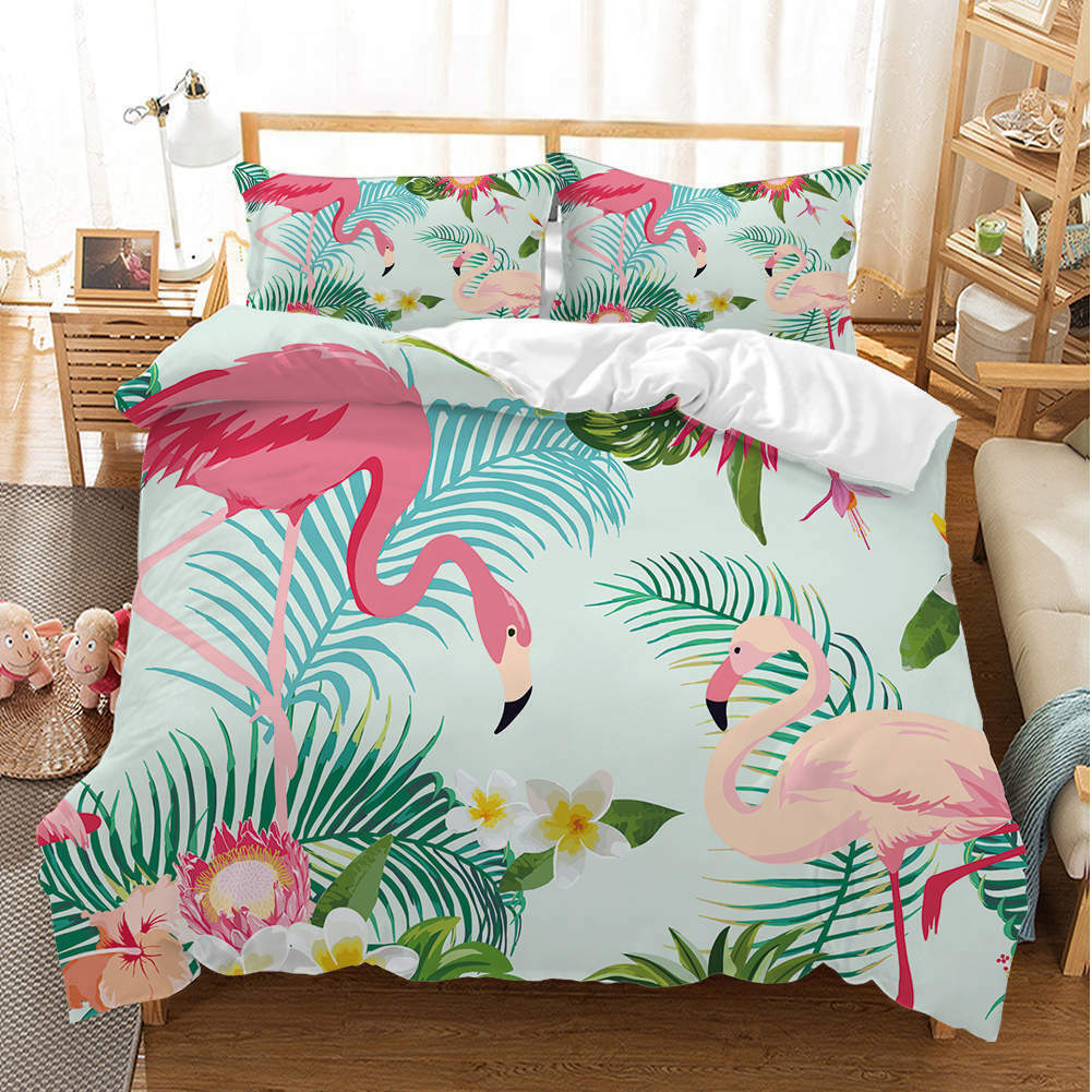 Elegant Water 3D Quilt Duvet Doona Cover Set Single Double Queen King Print