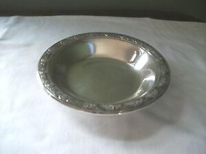 Reed Barton Silver Classic Rose Design Bowl 6 12 Ebay
